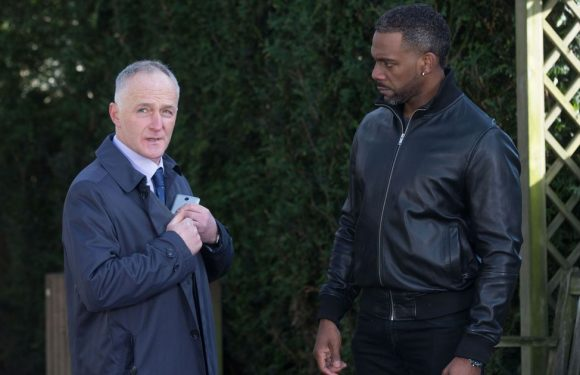 Vincent grasses Phil to the police to end his financial woes in EastEnders