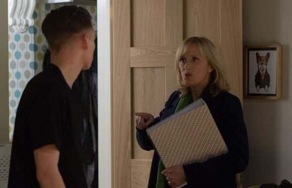 EastEnders sex scandal as Michelle is accused of sleeping with underage student