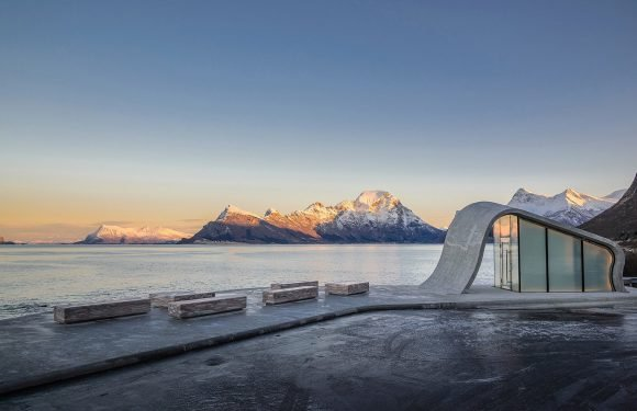 Feast your eyes on one of the world's most beautiful public toilets