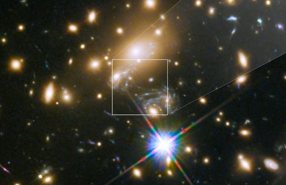 NASA captures image of most distant star ever
