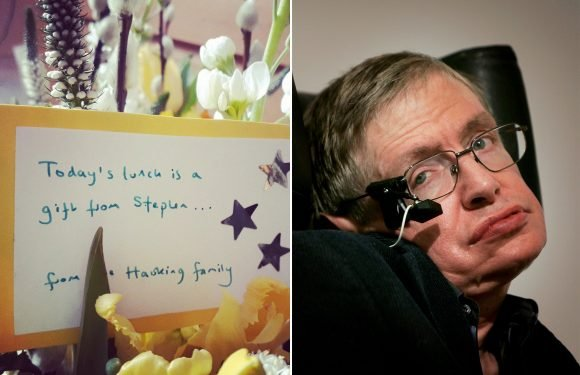 Stephen Hawking's selfless final gift from the grave