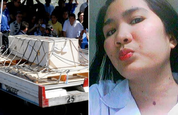 Couple sentenced to death following discovery of maid's body in freezer