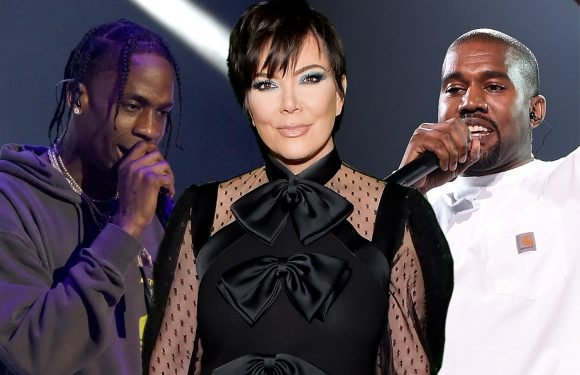Kris Jenner now guiding Kanye and Travis Scott's careers
