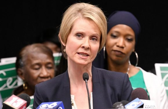 Cynthia Nixon wants to legalize weed to promote racial justice