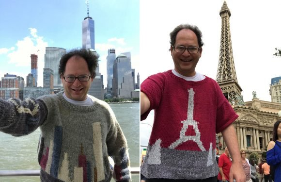 Internet falls in love with man and his homemade sweater selfies