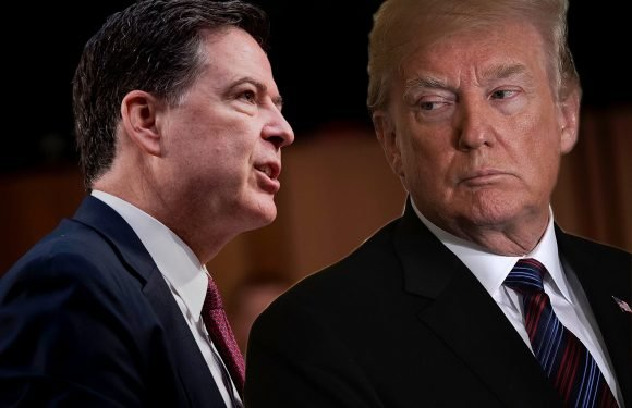 Comey: It's possible Trump was with hookers 'peeing on each other'