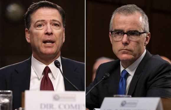 Trump says Comey and McCabe 'committed many crimes'