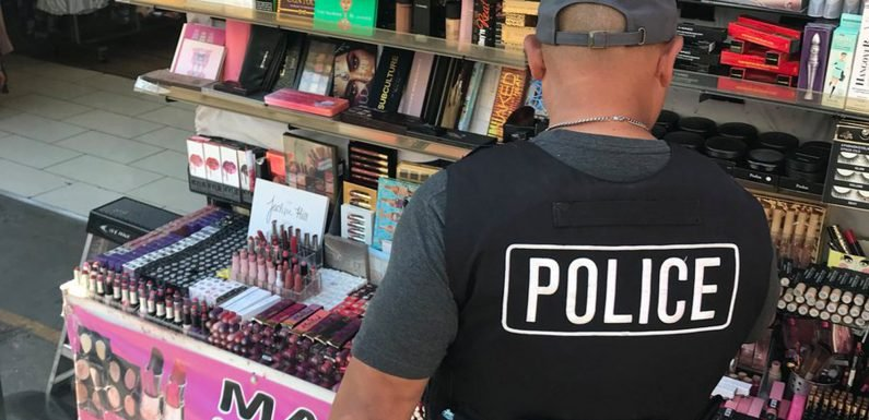 Animal feces and urine detected in conterfeit makeup