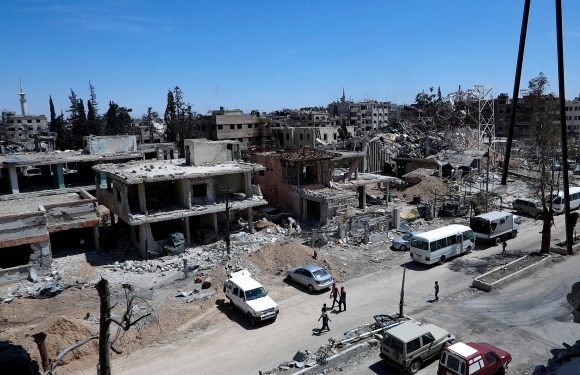 Chemical weapons watchdog chief: UN team shot at in Syria
