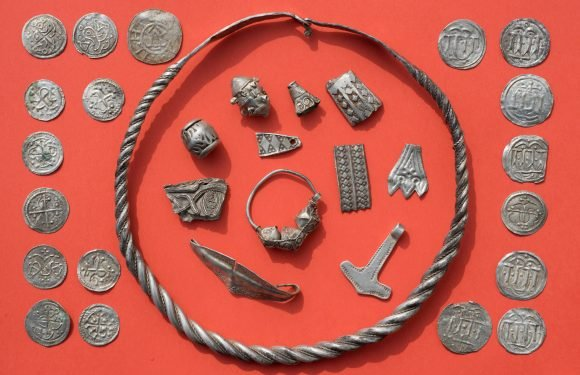 13-year-old finds Viking king's massive treasure trove