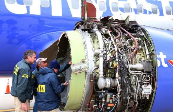 Blown engine in Southwest plane showed signs of 'metal fatigue'