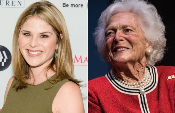 Jenna Bush Hager on grandma: 'You were our family's rock'