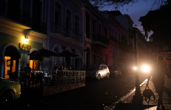 Power restored for most of Puerto Rico after huge blackout