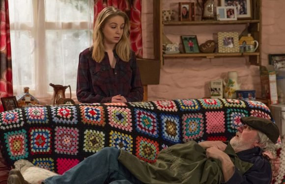 Zak Dingle reacts after finding out Lisa has left him on Emmerdale