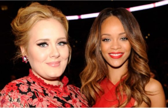 So, Adele Wrote a Profile on Rihanna For Time's 100 List, and It's Really, Really Cute