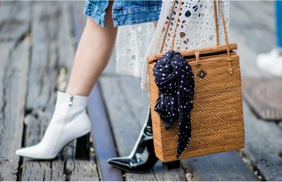 Less Twee, More Trendy: 25 Ways to Wear a Straw Bag This Season