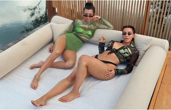 There's a Bright Green Bikini in Your Future —and It's Either Kim or Kourtney's