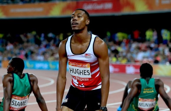 Runner shot in robbery wins Commonwealth Games gold – then gets disqualified