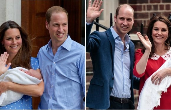 How Prince George, Princess Charlotte, and the New Royal Baby's Debuts Compare