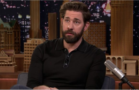 "John Krasinski Shares the Cringeworthy Moment He Realized He ""Married Up"""