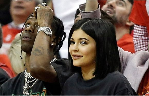 So Long, Diaper Duty! Kylie Jenner and Travis Scott Have a Stormi-Less Courtside Date Night