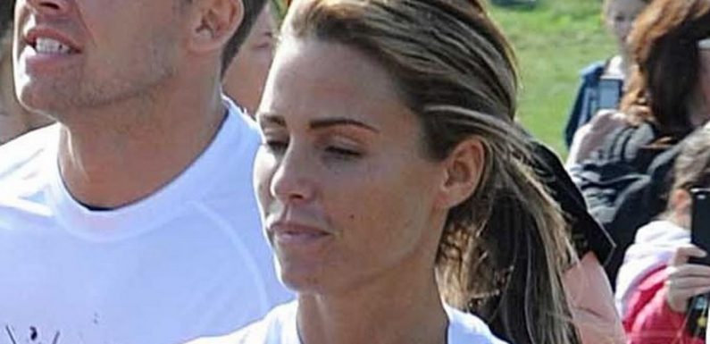 Katie Price hasn't trained for the London Marathon as fund raising falls flat