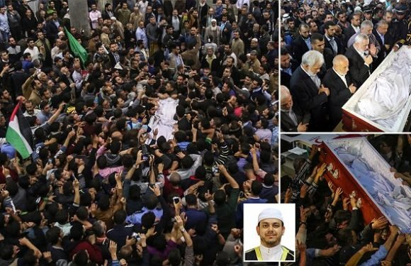 Hamas chief leads funeral for Palestinian scientist shot in Malaysia