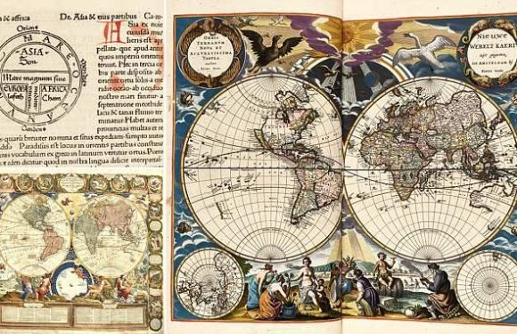 Ancient atlases hat changed the world are set to sell for millions