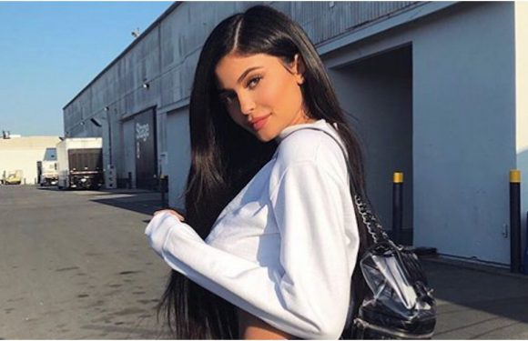 Kylie Jenner Wants You to Check Out Her Designer Backpack 3 Times Over, Thanks