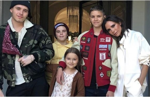 Victoria Beckham's Birthday Jacket Is So Young and Hip, She Must Be Reverse Aging