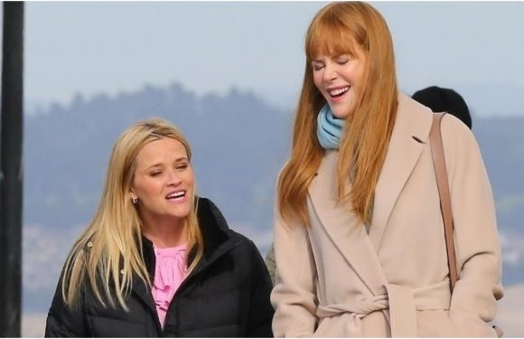 Nicole, Reese, and Meryl Are a Powerhouse Trio on the Set of Big Little Lies Season 2