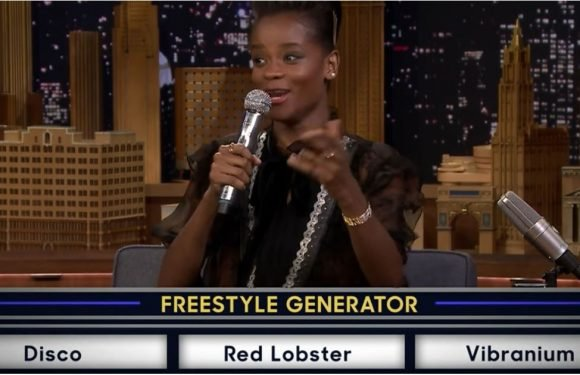 You Have to See Black Panther's Letitia Wright Seamlessly Rapping, Marvel Style