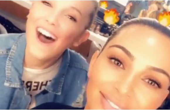 Kim Kardashian and Millie Bobby Brown Finally Met and Blessed Us With These FIRE Selfies