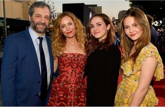 Leslie Mann's Strikingly Gorgeous Family Steps Out in Full Force at Her Movie Premiere