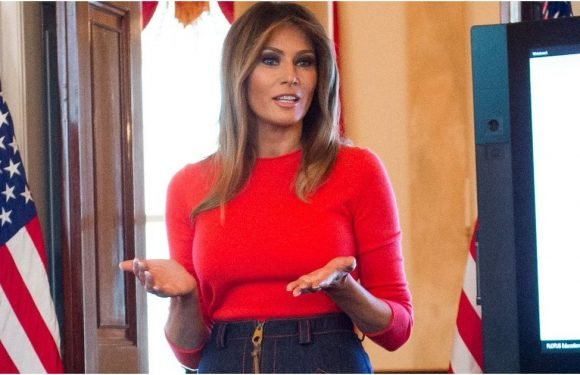 Melania Trump's Denim Might Not Get More Deconstructed Than This