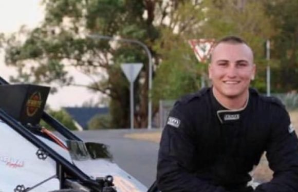 Speedcar driver Reid Mackay fighting for his life after crash