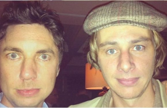OK, This Is Freaky: Dax Shepard and Zach Braff Are Basically the Same Person in This Face Swap