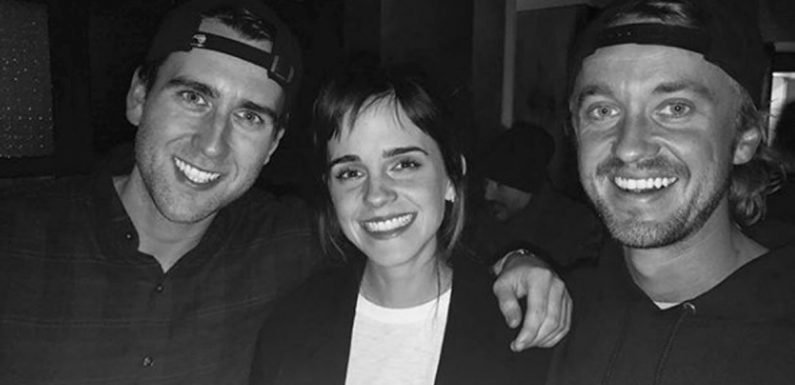 """Tom Felton and Emma Watson's Harry Potter Reunion Will Give You All the """"Dramione"""" Feels"""