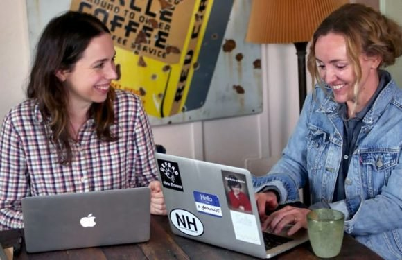 Charlie's angels: Australian duo Alison Bell and Sarah Scheller tackling the business of Hollywood
