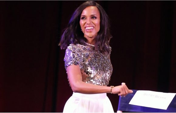 Kerry Washington's Top Is Proof That Even Boss Ladies Can Bare Their Midriffs