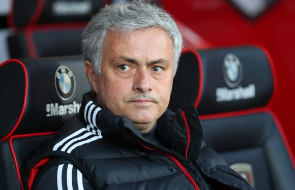 Mourinho names the three Man Utd players who will start against Spurs