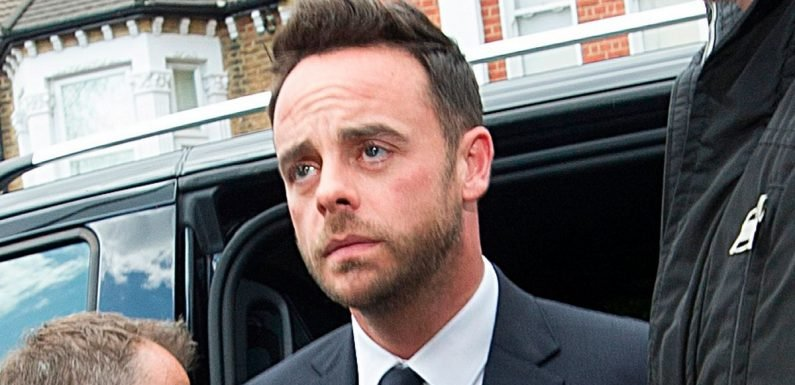 Ant McPartlin fined £86k after pleading guilty to drink driving