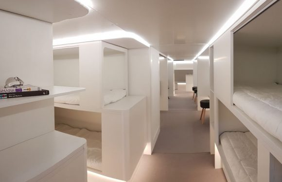 Planes' cargo holds to be transformed into children's play areas and sleep pods