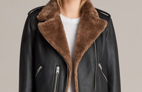 AllSaints launch spring sale and even their premium leather jackets are on sale