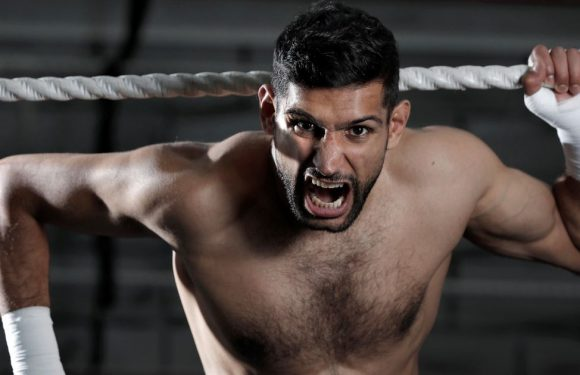 'Amir Khan has come back from knocks before and will again'