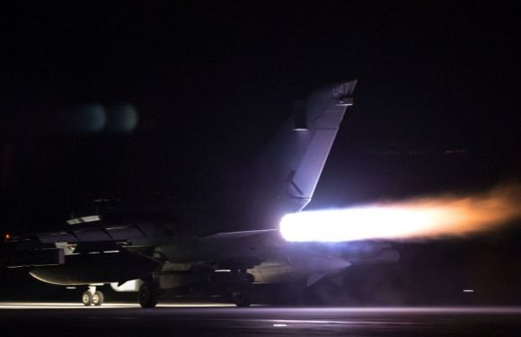 RAF Tornado jets take off ahead of military intervention in Syria