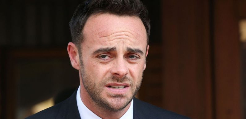 Doctor involved in Ant McPartlin crash feared 'motionless' star was dead