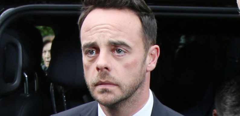 Ant McPartlin pleads guilty to drink driving