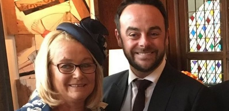 Ant McPartlin's sober coach mum Christine Woodhall 'didn't know' he was drunk