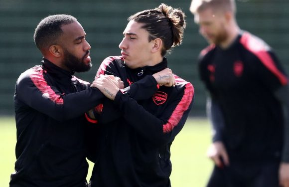 7 things we noticed from Arsenal training ahead of Atletico Madrid clash